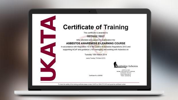 Ukata Asbestos Awareness Training Course Bainbridge