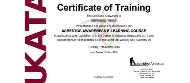 boost your career with a ukata asbestos awareness certificate