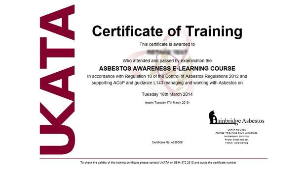 Boost Your Career With A Ukata Asbestos Awareness